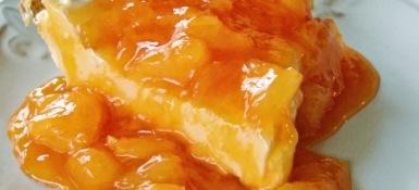 relleno de naranja