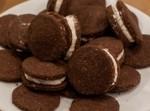 galleta de chocolate y nata